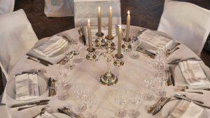 Décoration vases et chandeliers